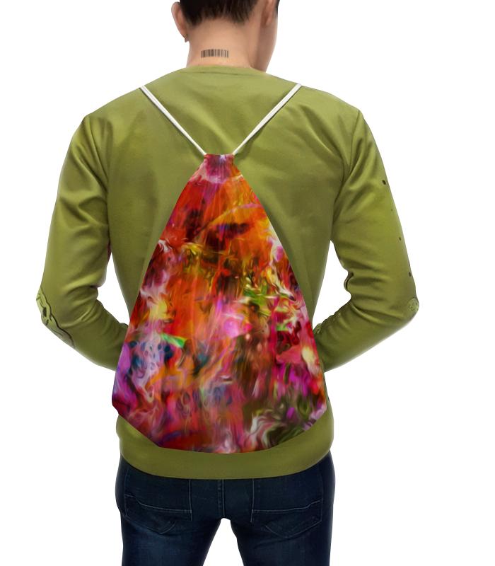 Рюкзак с полной запечаткой Printio Разноцветные краски рюкзак с полной запечаткой printio разноцветные сердечки любовь