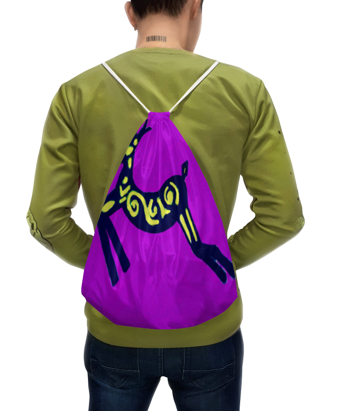 Рюкзак с полной запечаткой Printio Олень футболка с полной запечаткой printio северный олень