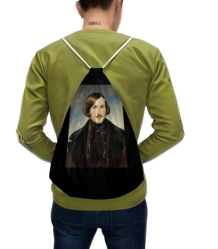 Рюкзак с полной запечаткой Printio Николай гоголь (портрет работы фёдора моллера) рубашка поло printio николай гоголь портрет работы фёдора моллера