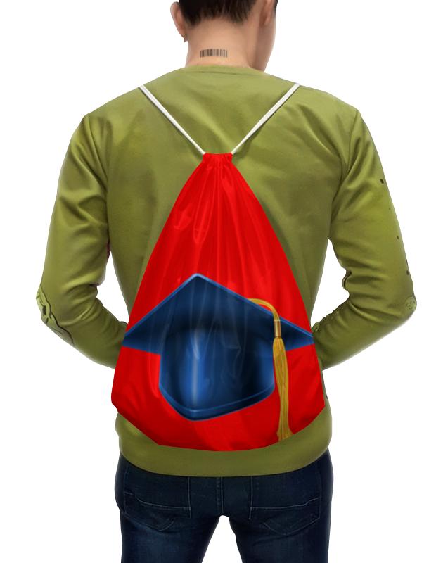 Рюкзак-мешок с полной запечаткой Printio Студент рюкзак мешок с полной запечаткой printio девушка