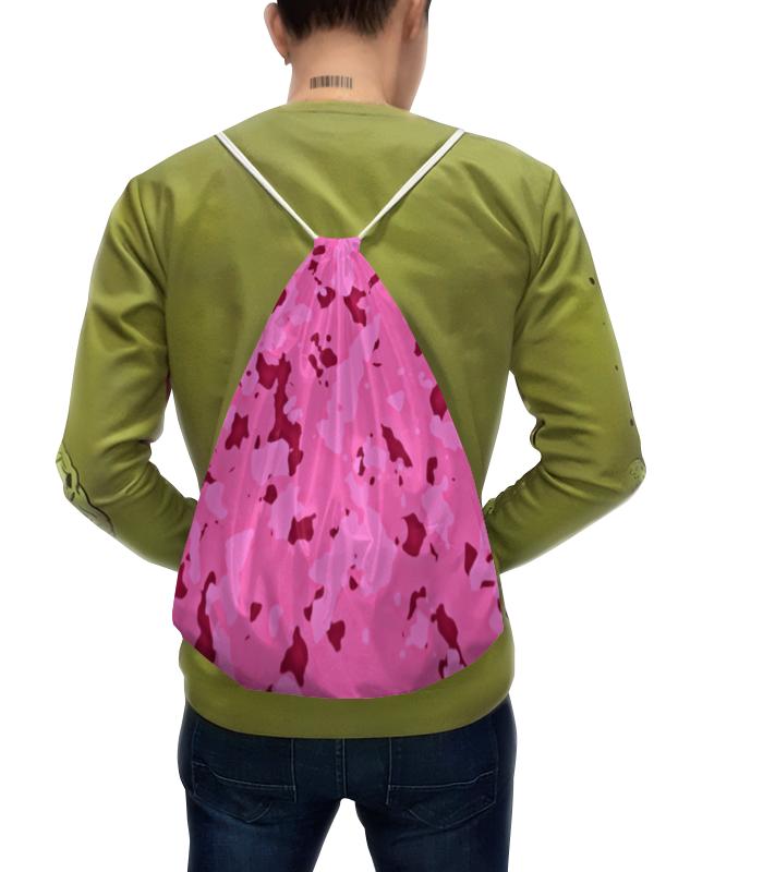 Рюкзак с полной запечаткой Printio Розовый камуфляж рюкзак sland камуфляж 100 1491314