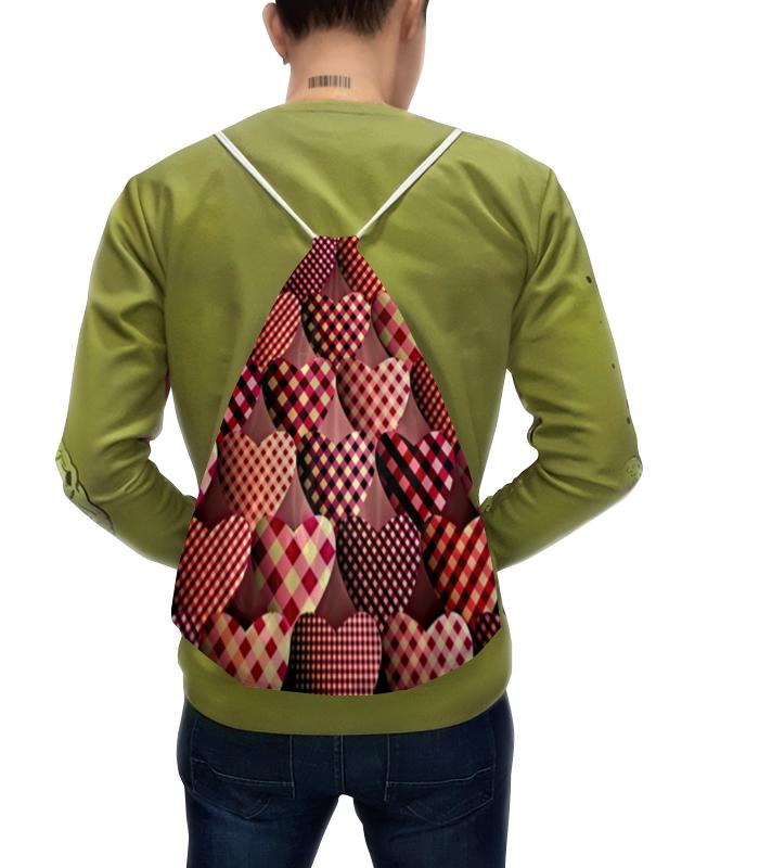 Рюкзак с полной запечаткой Printio Сердечки рюкзак с полной запечаткой printio разноцветные сердечки любовь