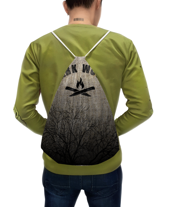 Рюкзак с полной запечаткой Printio Тёмный лес