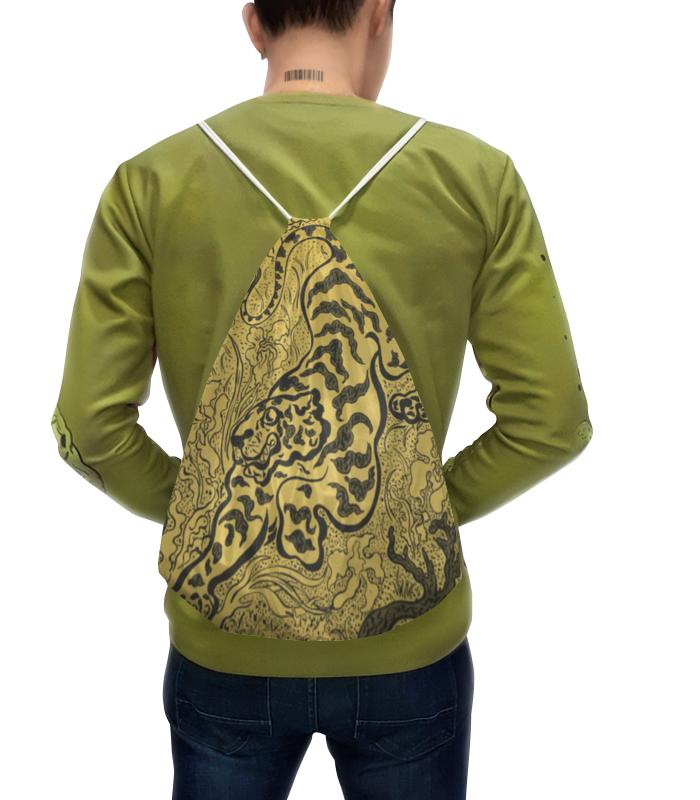 Рюкзак с полной запечаткой Printio Тигр в джунглях (поль-элье рансон)