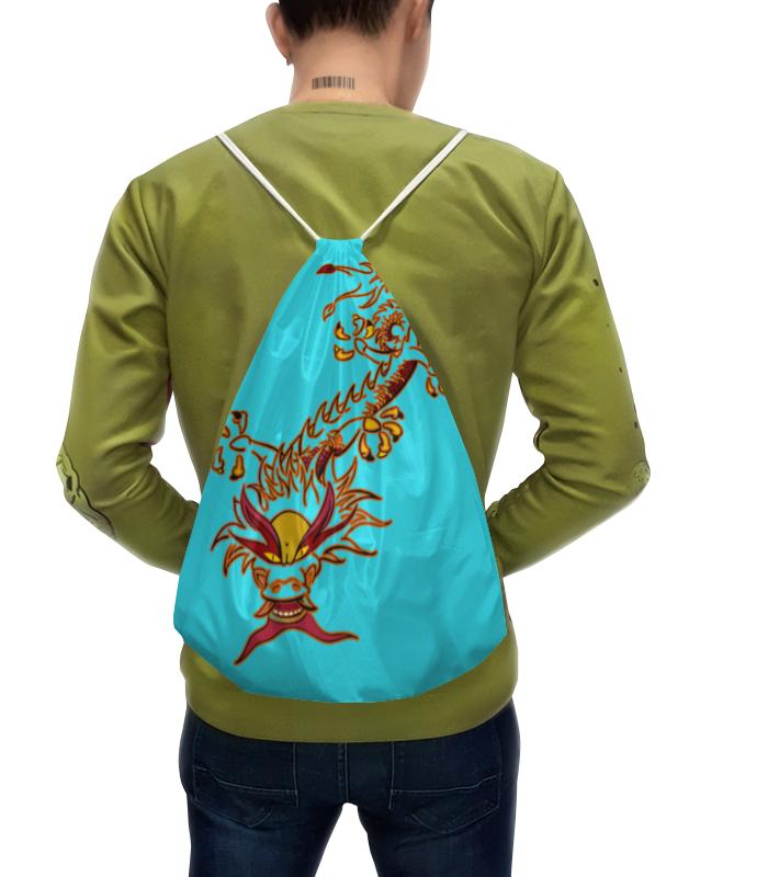 Рюкзак с полной запечаткой Printio Дракон рюкзак с полной запечаткой printio пейсли яркий