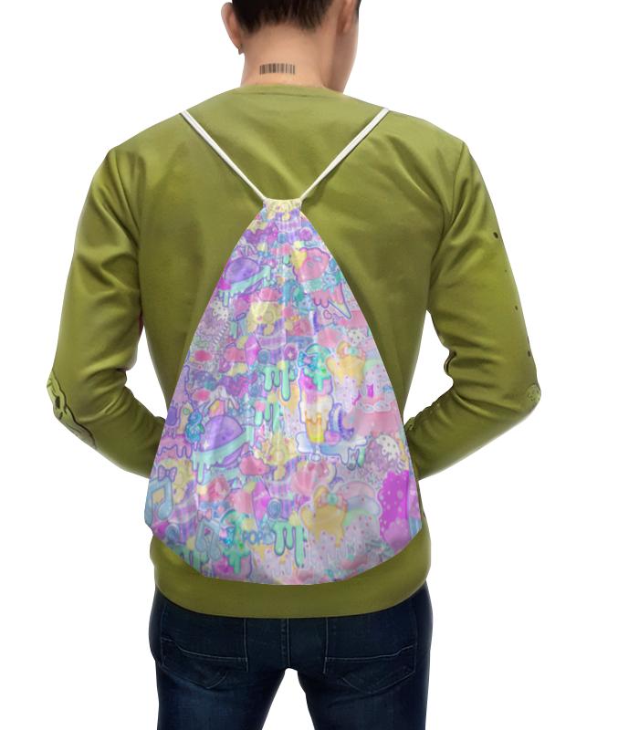 купить Рюкзак-мешок с полной запечаткой Printio Привет от тумблера 2 недорого