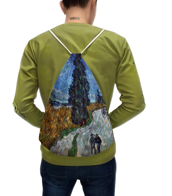 Рюкзак с полной запечаткой Printio Дорога с кипарисом и звездой (винсент ван гог) майка print bar винсент и джулс