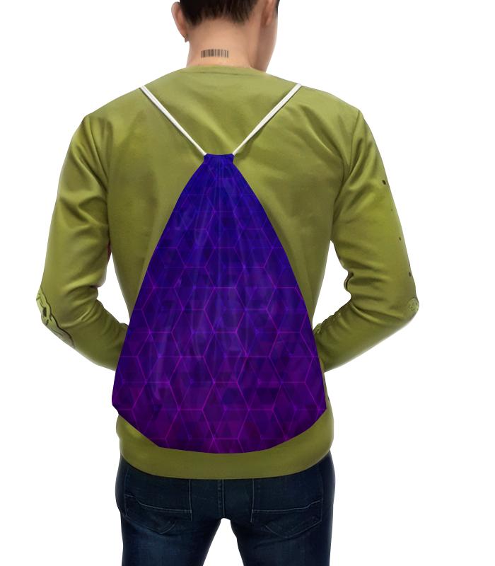 Рюкзак с полной запечаткой Printio Purple fit сумка с полной запечаткой printio геометрия соты