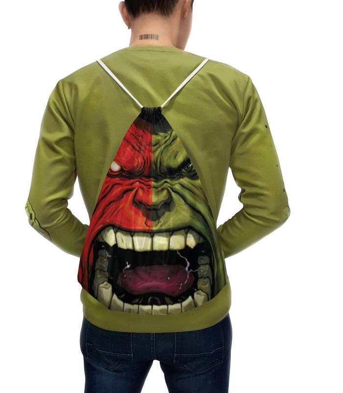 Рюкзак с полной запечаткой Printio Hulk & red hulk / халк и красный халк hulk gray