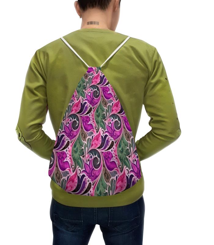 Рюкзак с полной запечаткой Printio Цветы расписные рюкзак с полной запечаткой printio рюкзак луговые цветы