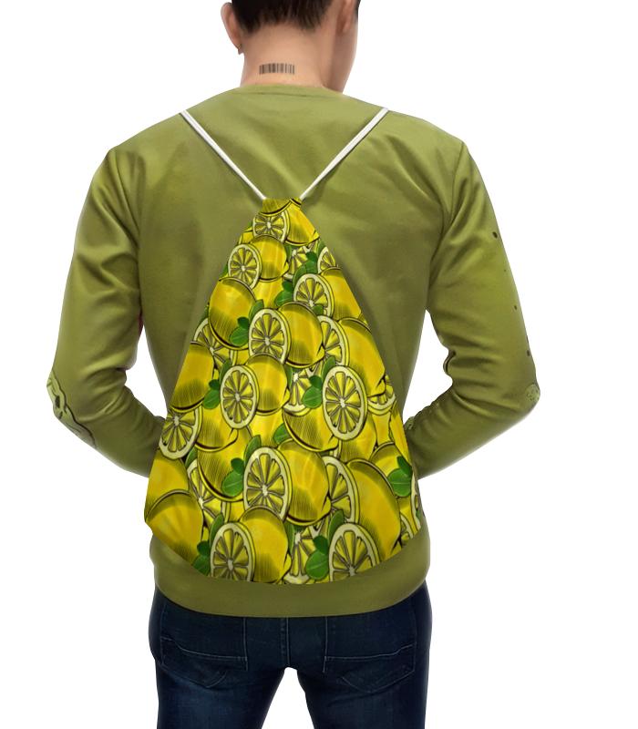 Рюкзак с полной запечаткой Printio Лимоны лукашинские лимоны с имбирем 450 г