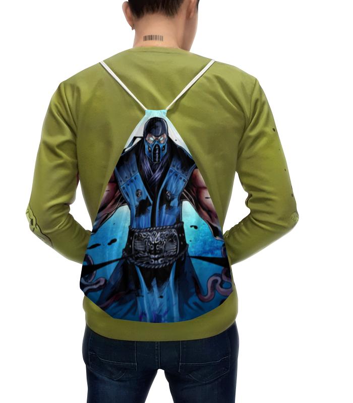 Рюкзак-мешок с полной запечаткой Printio Mortal kombat x (sub-zero) сумка с полной запечаткой printio mortal kombat x sub zero