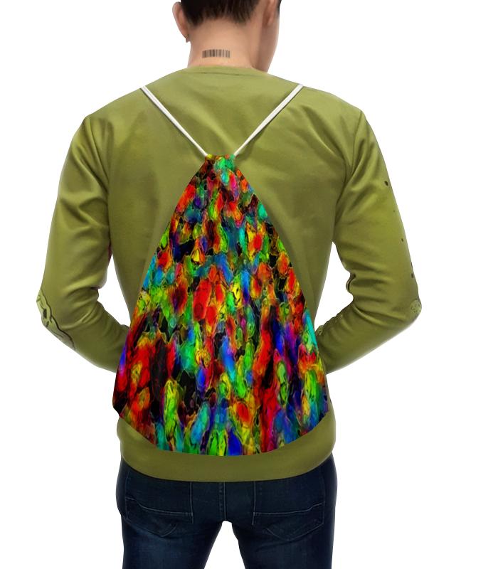 Рюкзак с полной запечаткой Printio Яркие блики цена