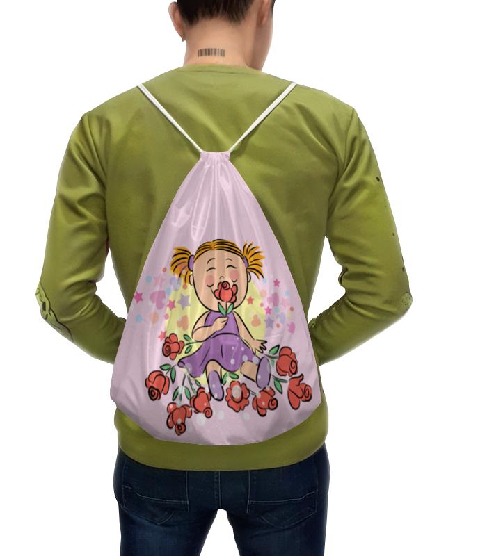 Рюкзак-мешок с полной запечаткой Printio Девочка рюкзак мешок с полной запечаткой printio искорка девочки эквестрии