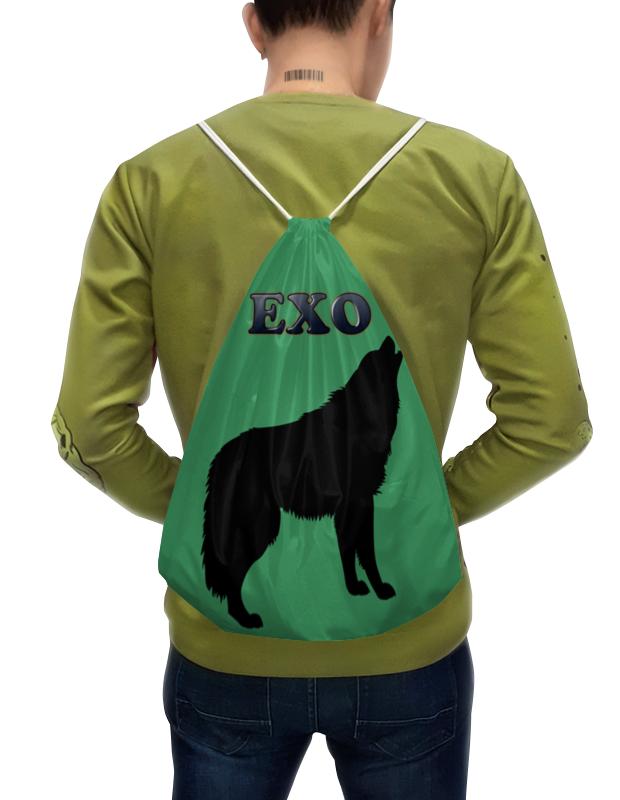 цены на Printio Exo (wolf) зеленый  в интернет-магазинах
