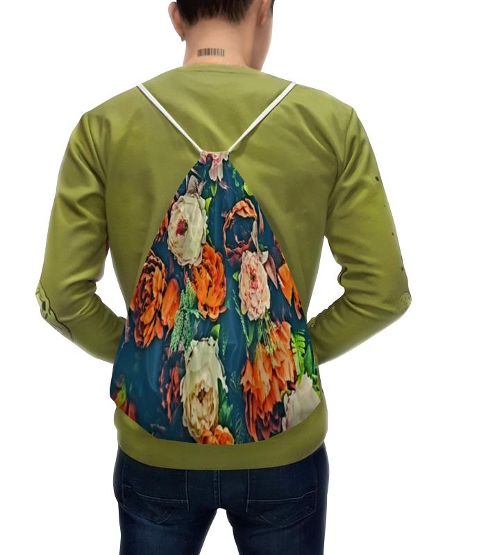 Рюкзак-мешок с полной запечаткой Printio Flowers чехол для iphone 5 глянцевый с полной запечаткой printio flowers