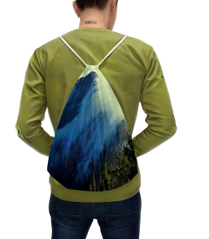 цена Рюкзак-мешок с полной запечаткой Printio Живописный пейзаж