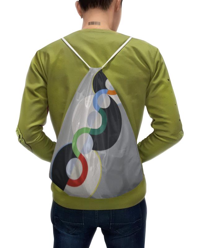 Рюкзак с полной запечаткой Printio Бесконечный ритм (робер делоне) футболка с полной запечаткой мужская printio обнажённая с книгой робер делоне
