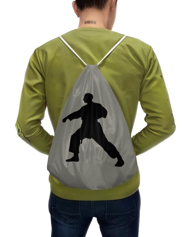 Рюкзак-мешок с полной запечаткой Printio Тхэквондо
