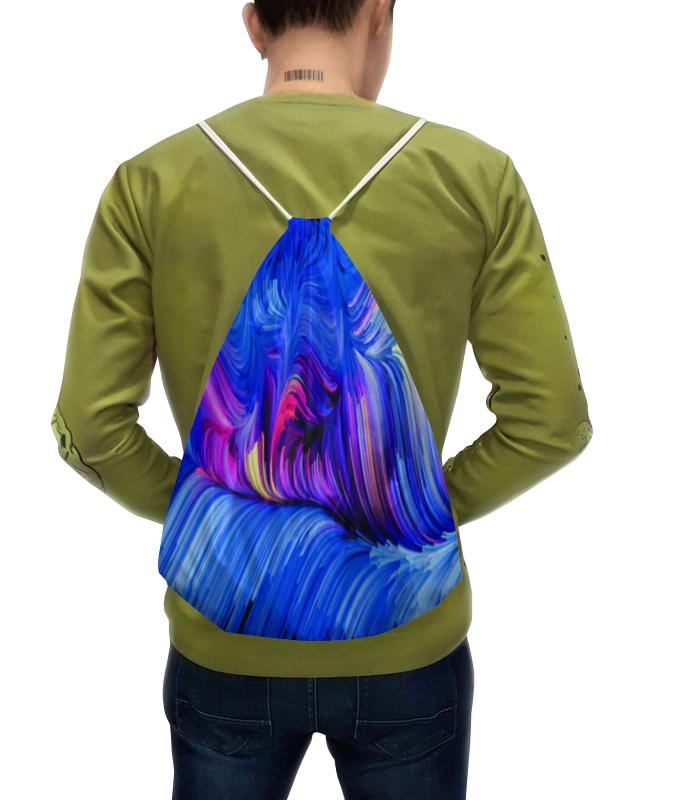 Фото - Рюкзак с полной запечаткой Printio Узор красками рюкзак code code co073bwbyzk6