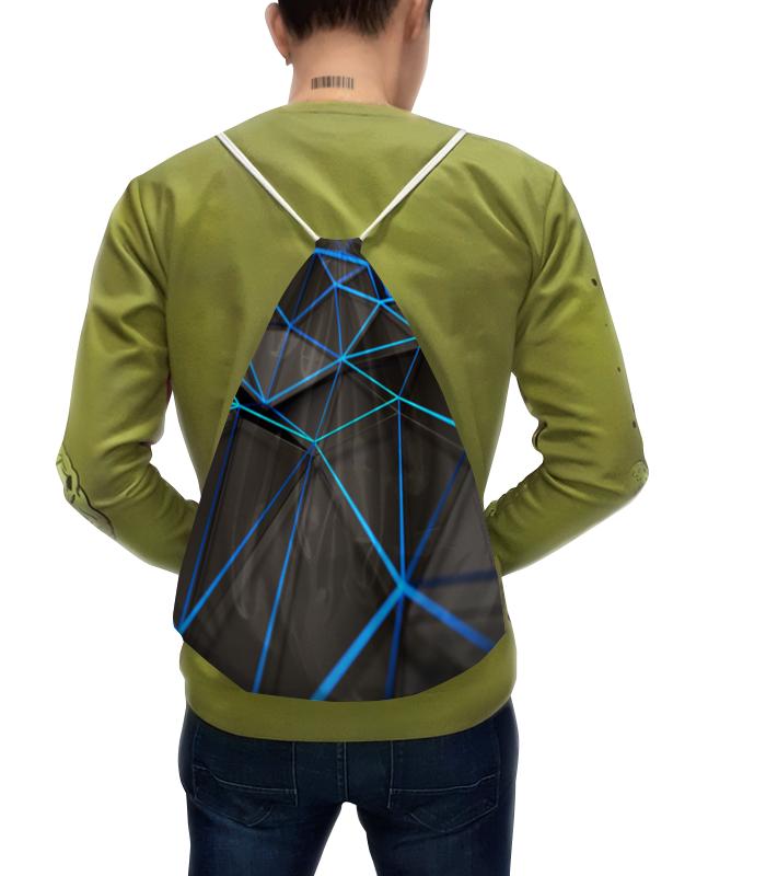 Рюкзак с полной запечаткой Printio Абстрактные линии рюкзак с полной запечаткой printio пешеходный переход
