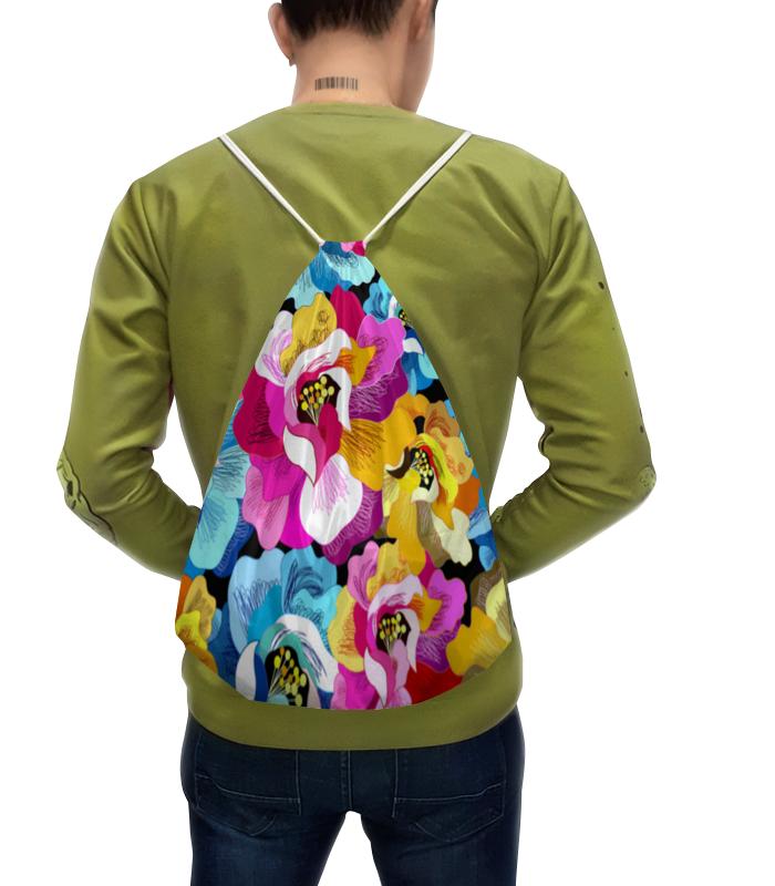 Рюкзак с полной запечаткой Printio Цветочный сад рюкзак с полной запечаткой printio открытая дверь в сад константин сомов