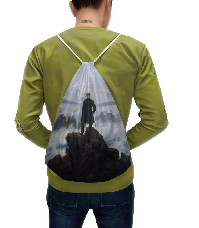 Рюкзак с полной запечаткой Printio Странник над морем тумана купить аксессуары для водяного тумана