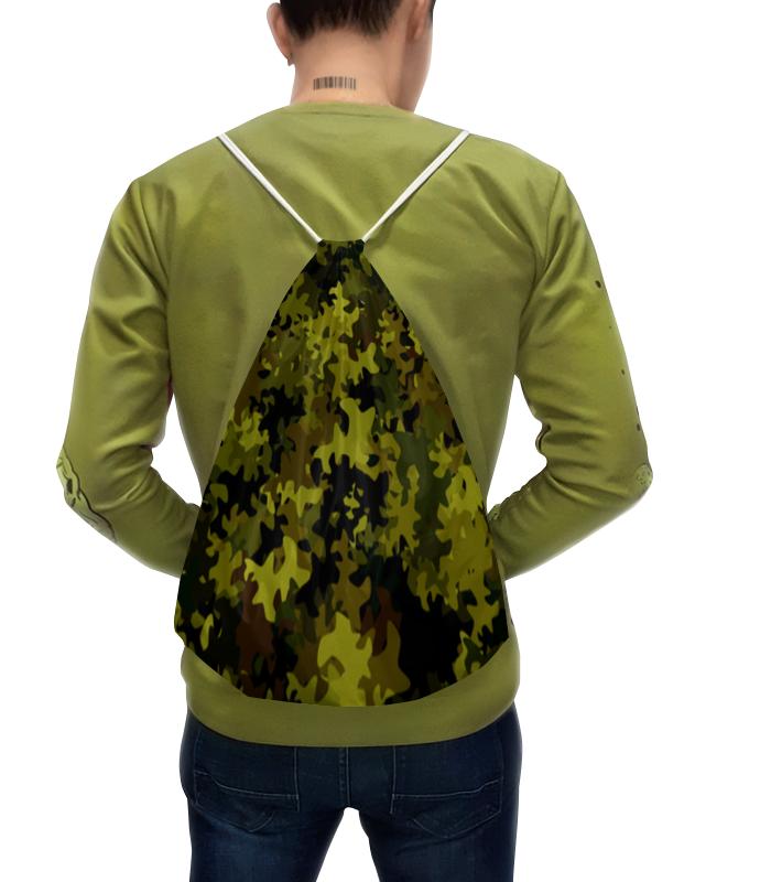 Рюкзак с полной запечаткой Printio Камуфляж зеленый чехол для iphone 5 глянцевый с полной запечаткой printio камуфляж