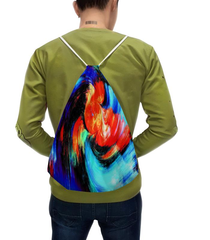 Рюкзак с полной запечаткой Printio Пятна красок цена