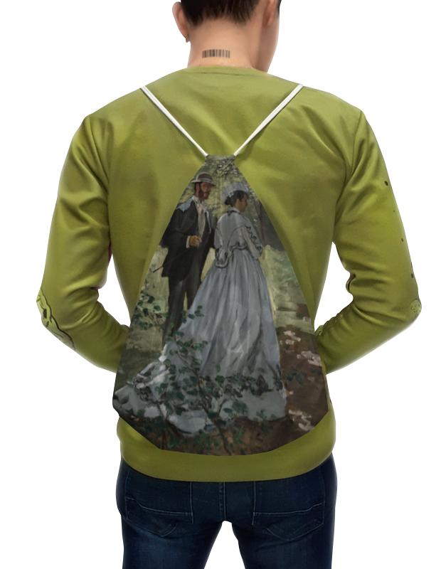 Printio Базиль и камилла (картина клода моне) рюкзак мешок с полной запечаткой printio картина
