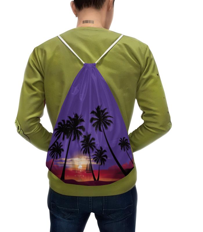 Рюкзак с полной запечаткой Printio Острова в океане калека с острова инишмаан