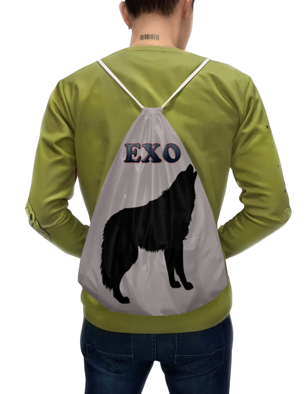 Printio Exo (wolf) серый цена и фото