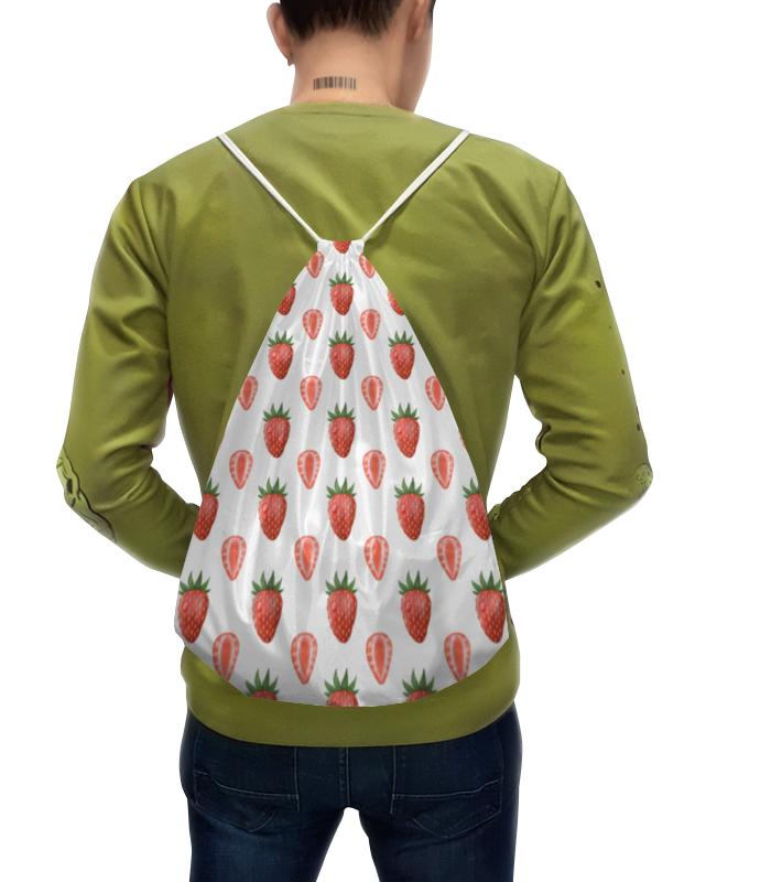 Рюкзак с полной запечаткой Printio Акварельная клубника weider 32% protein bar 60г клубника