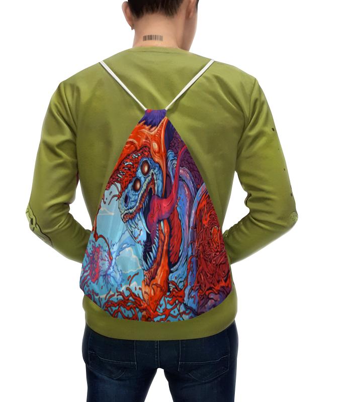 Рюкзак с полной запечаткой Printio Зверь рюкзак erichkrause школьный феи и невиданный зверь разноцветный