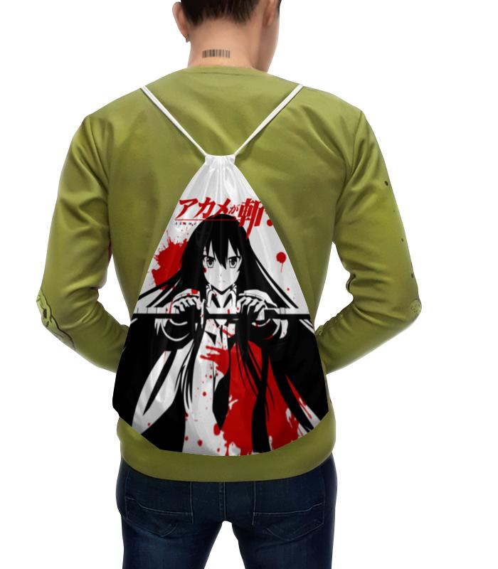 Рюкзак с полной запечаткой Printio Убийца акаме андрей дашков убийца боли