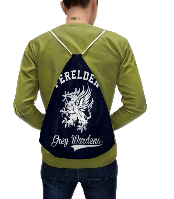 Рюкзак-мешок с полной запечаткой Printio Dragon age. серые стражи кружка printio dragon age серые стражи