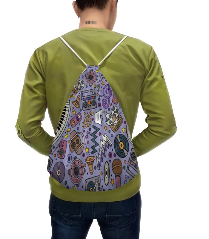 Рюкзак с полной запечаткой Printio Музыка музыка