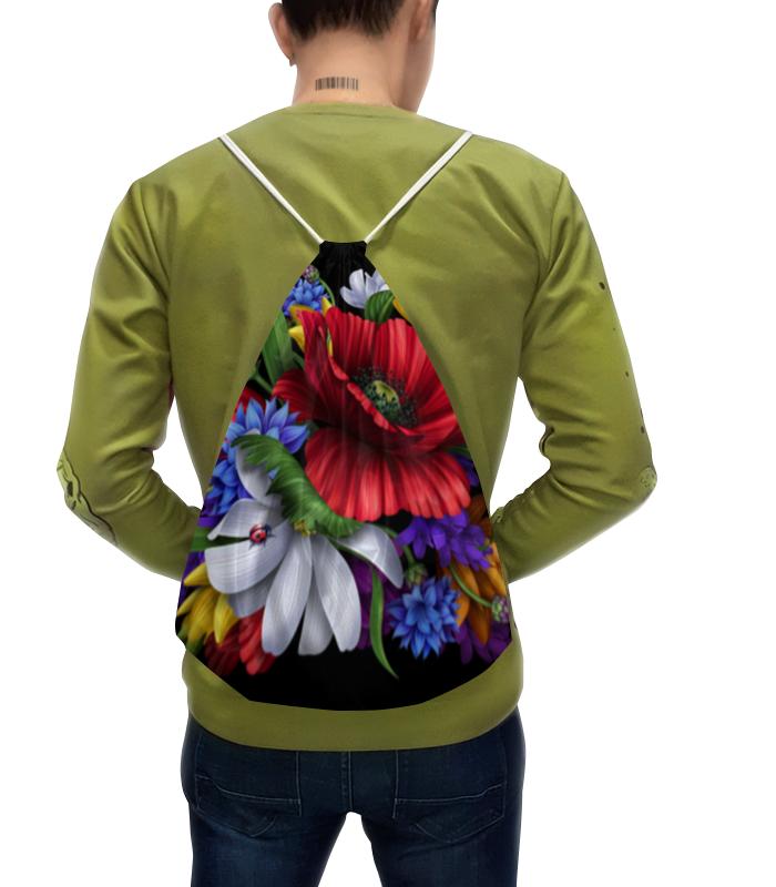 Рюкзак с полной запечаткой Printio Композиция цветов композиция из цветов и конфет