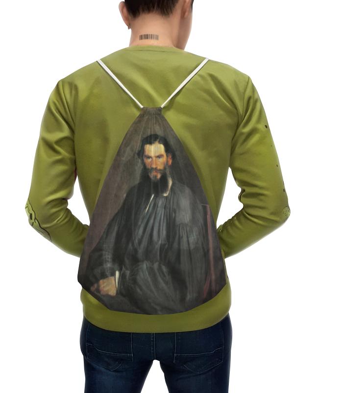 Рюкзак с полной запечаткой Printio Портрет льва николаевича толстого рюкзак с полной запечаткой printio николай гоголь портрет работы фёдора моллера