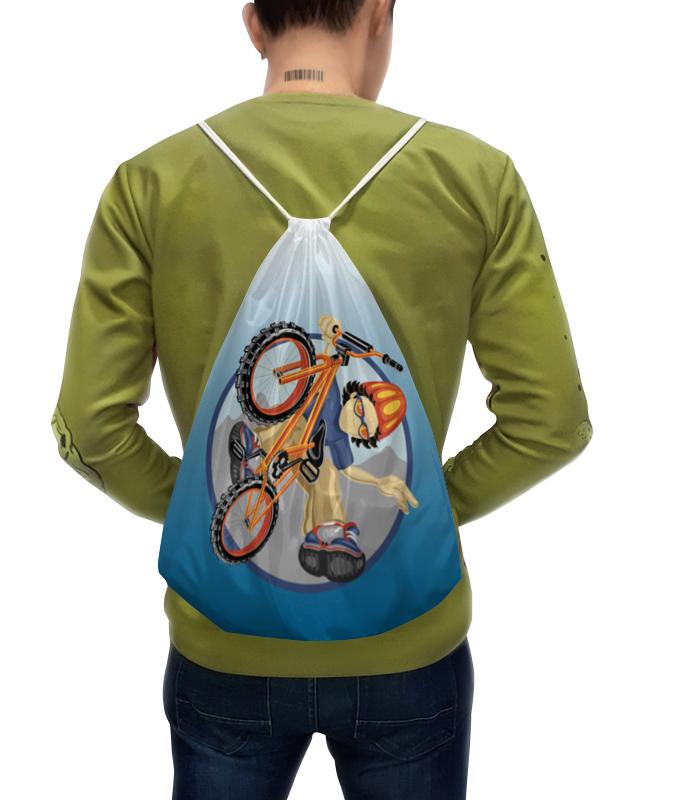 Рюкзак с полной запечаткой Printio Велосипед встраиваемая посудомоечная машина bosch smv 46cx03 e