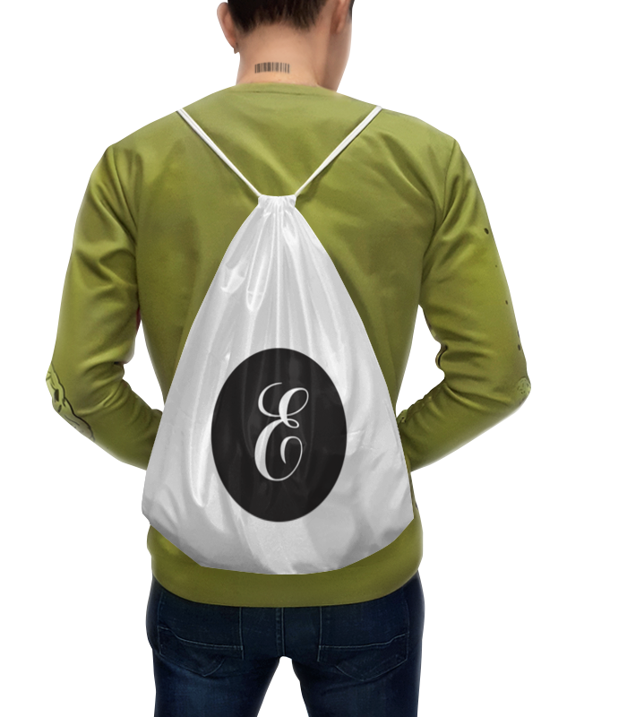 Рюкзак-мешок с полной запечаткой Printio Монограмма рюкзак мешок с полной запечаткой printio подарок