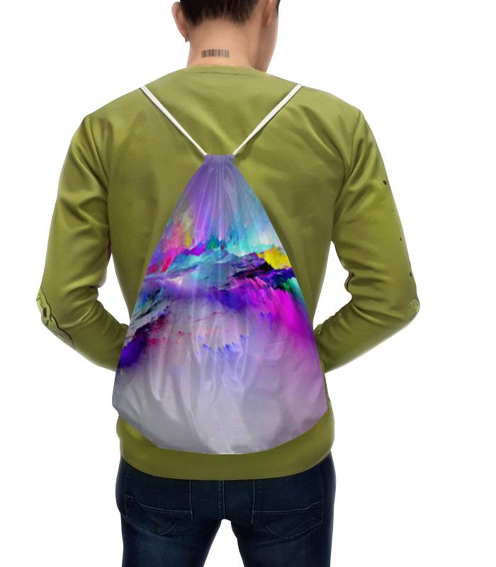 Рюкзак с полной запечаткой Printio Взрыв цвета рюкзак prival кузьмич 45 khaki