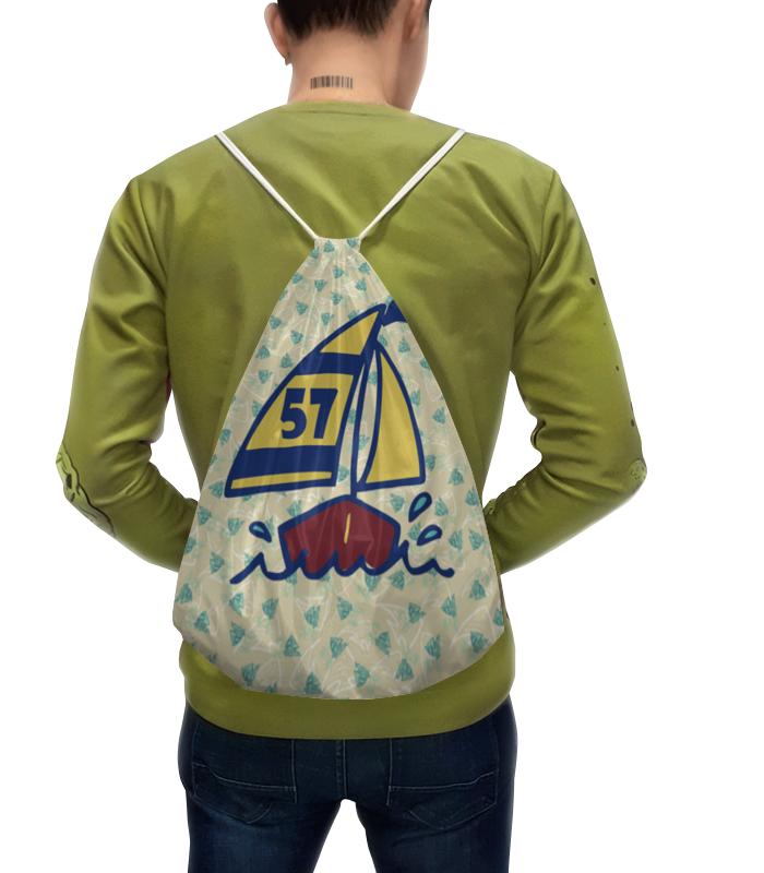 Рюкзак-мешок с полной запечаткой Printio Кораблик анна гурова кукольный кораблик
