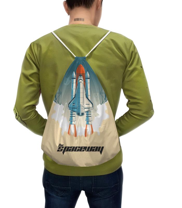 Рюкзак-мешок с полной запечаткой Printio The spaceway рюкзак с полной запечаткой printio рюкзак космос