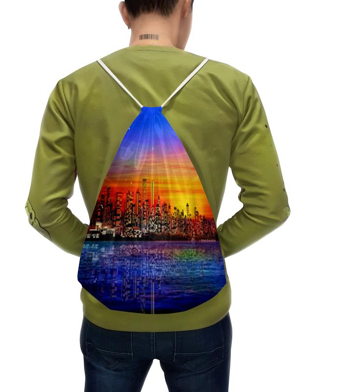 Рюкзак с полной запечаткой Printio Ночной город