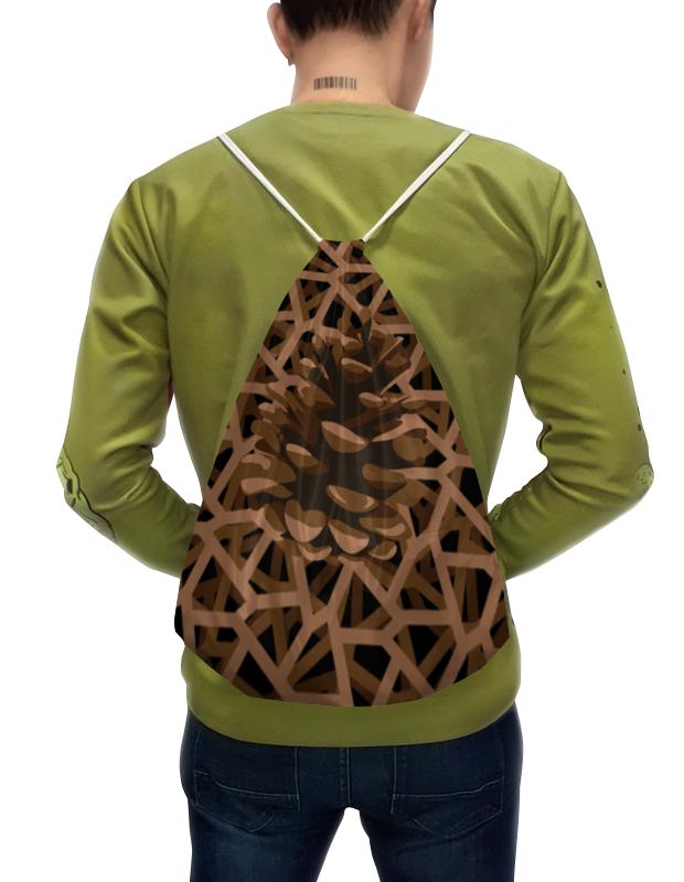 Рюкзак-мешок с полной запечаткой Printio Шишка