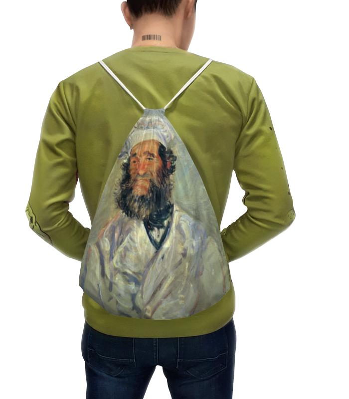 Рюкзак с полной запечаткой Printio Портрет папаши поля (клод моне) футболка с полной запечаткой printio топинамбур клод моне