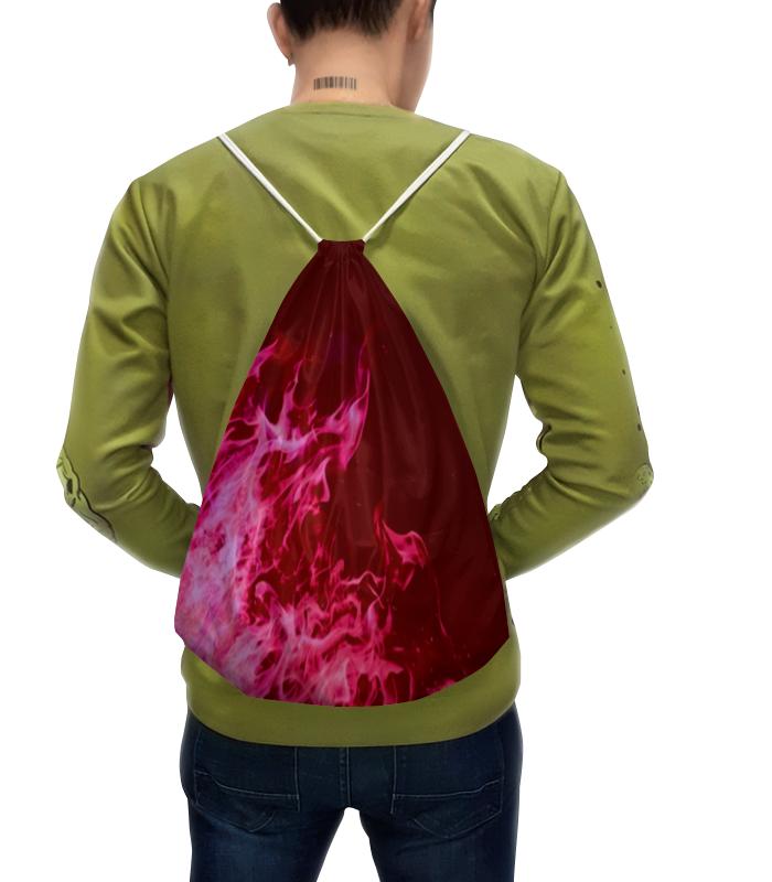 Рюкзак с полной запечаткой Printio Красное пламя рюкзак с полной запечаткой printio пешеходный переход