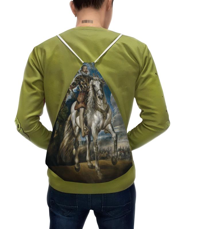 цена Рюкзак-мешок с полной запечаткой Printio Герцог лерма (картина рубенса)