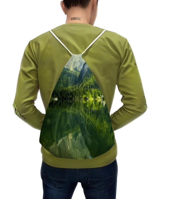 Рюкзак с полной запечаткой Printio Лесные склоны борцовка с полной запечаткой printio лесные ягоды
